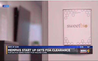 Memphis start-up receives FDA clearance for device using honey for wound care